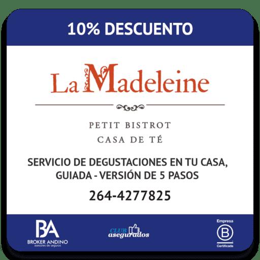 10% Descuento La Madeleine