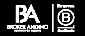 Broker Andino . Logo blanco